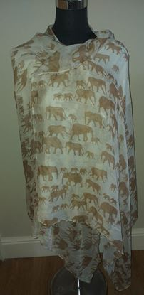 Picture of Elephant scarf